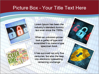 Roger symbol on screen PowerPoint Template - Slide 24