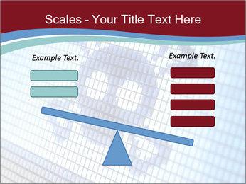 Roger symbol on screen PowerPoint Template - Slide 89