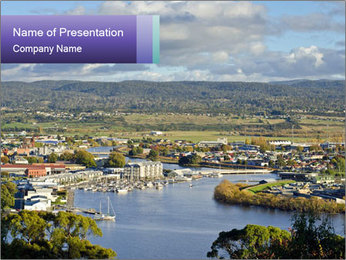 Tamar River PowerPoint Template