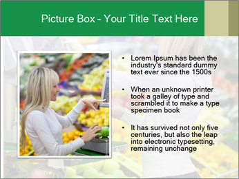 Woman shopping PowerPoint Template - Slide 13