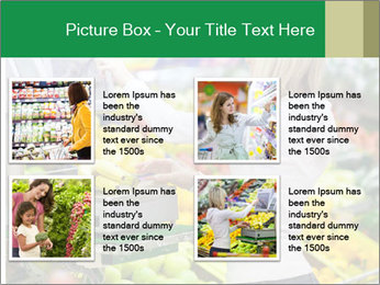 Woman shopping PowerPoint Template - Slide 14