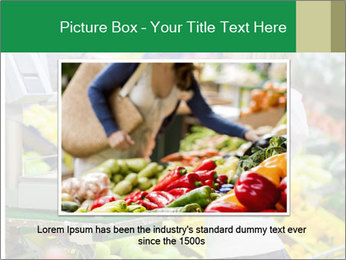 Woman shopping PowerPoint Template - Slide 15