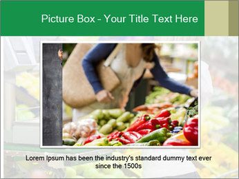 Woman shopping PowerPoint Template - Slide 16