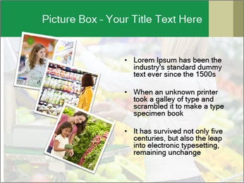 Woman shopping PowerPoint Template - Slide 17