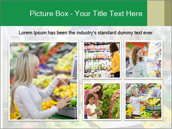 Woman shopping PowerPoint Template - Slide 19