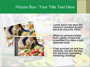 Woman shopping PowerPoint Template - Slide 20