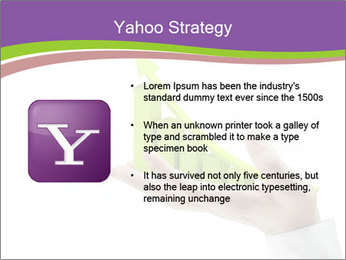 Business graph PowerPoint Template - Slide 11