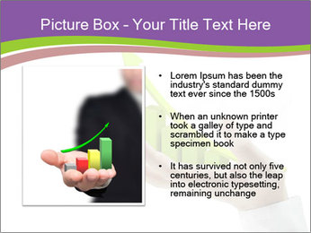 Business graph PowerPoint Template - Slide 13