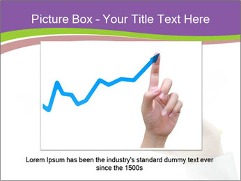 Business graph PowerPoint Template - Slide 15