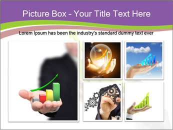 Business graph PowerPoint Template - Slide 19