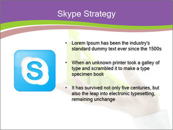 Business graph PowerPoint Template - Slide 8