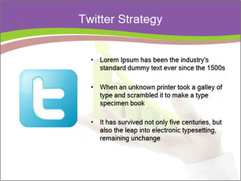 Business graph PowerPoint Template - Slide 9