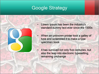 Red roses PowerPoint Template - Slide 10