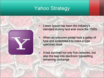 Red roses PowerPoint Template - Slide 11