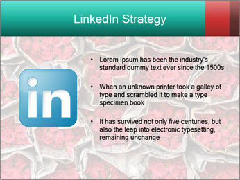 Red roses PowerPoint Template - Slide 12
