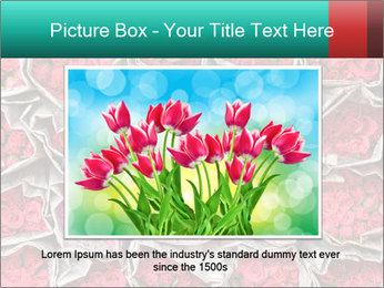 Red roses PowerPoint Template - Slide 15