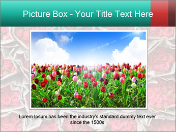 Red roses PowerPoint Template - Slide 16