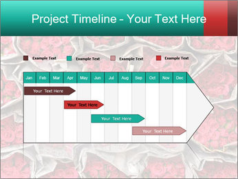Red roses PowerPoint Template - Slide 25