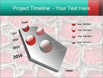 Red roses PowerPoint Template - Slide 26