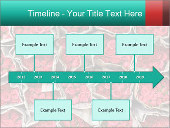 Red roses PowerPoint Template - Slide 28