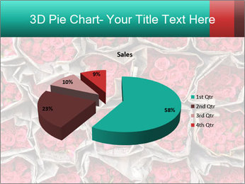 Red roses PowerPoint Template - Slide 35
