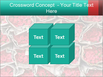 Red roses PowerPoint Template - Slide 39
