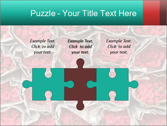 Red roses PowerPoint Template - Slide 42