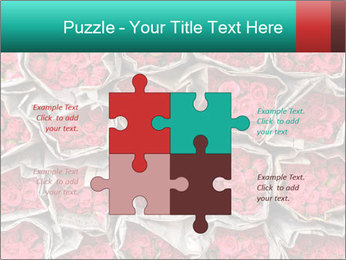 Red roses PowerPoint Template - Slide 43
