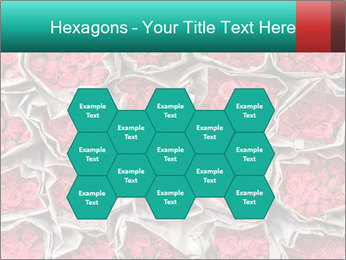 Red roses PowerPoint Template - Slide 44