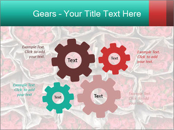 Red roses PowerPoint Template - Slide 47