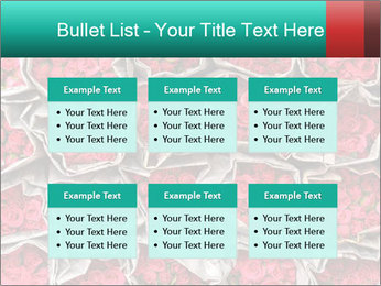 Red roses PowerPoint Template - Slide 56