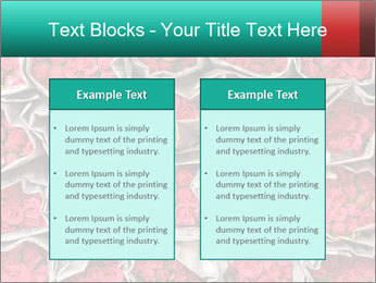 Red roses PowerPoint Template - Slide 57