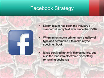 Red roses PowerPoint Template - Slide 6
