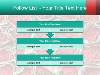 Red roses PowerPoint Template - Slide 60