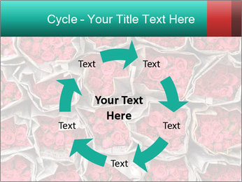 Red roses PowerPoint Template - Slide 62
