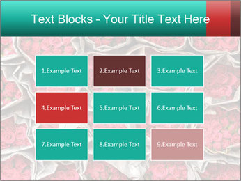 Red roses PowerPoint Template - Slide 68