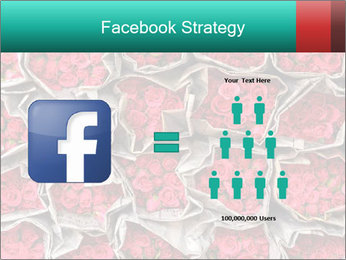 Red roses PowerPoint Template - Slide 7