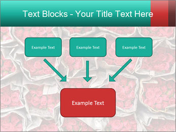 Red roses PowerPoint Template - Slide 70