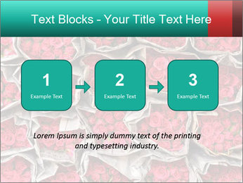 Red roses PowerPoint Template - Slide 71