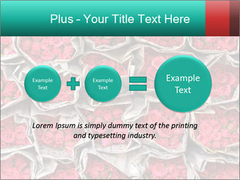 Red roses PowerPoint Template - Slide 75