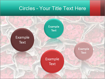 Red roses PowerPoint Template - Slide 77