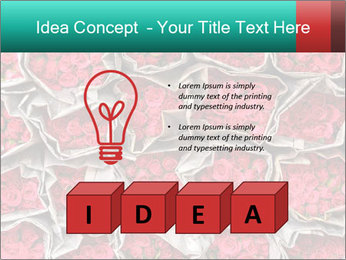 Red roses PowerPoint Template - Slide 80