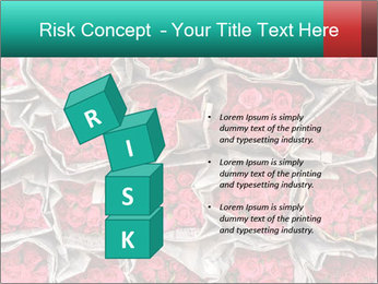 Red roses PowerPoint Template - Slide 81