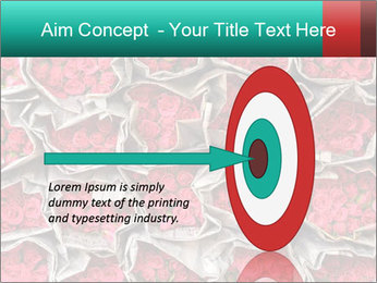 Red roses PowerPoint Template - Slide 83