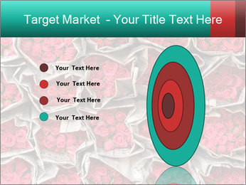 Red roses PowerPoint Template - Slide 84