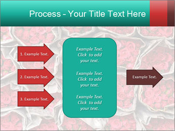 Red roses PowerPoint Template - Slide 85