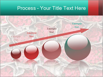 Red roses PowerPoint Template - Slide 87