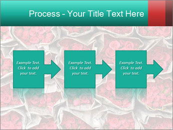 Red roses PowerPoint Template - Slide 88
