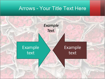 Red roses PowerPoint Template - Slide 90