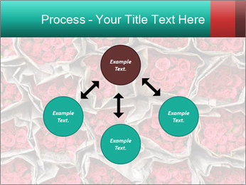 Red roses PowerPoint Template - Slide 91